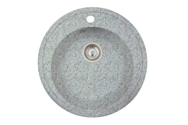Мойка Виктория (Медея) 502*502 мм, серый с сифоном