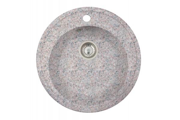 Мойка Виктория (Медея) 502*502 мм, терра с сифоном