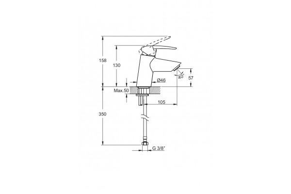 Набор смесителей Vitra 3F Dinamic S A49152EXP