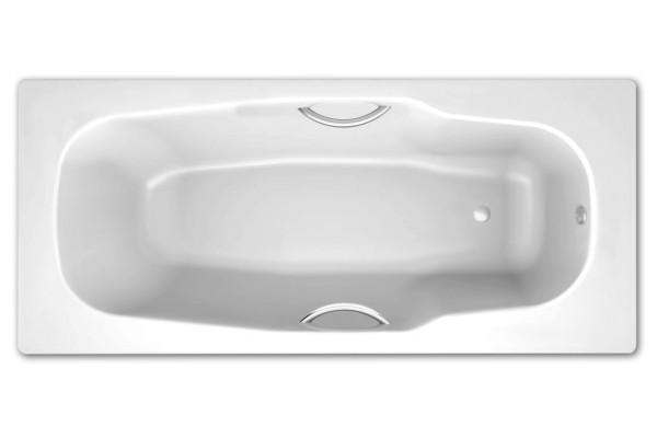 ВаннастальнаяBLB, ATLANTICA180х80сотверстиямидляручек,безножек
