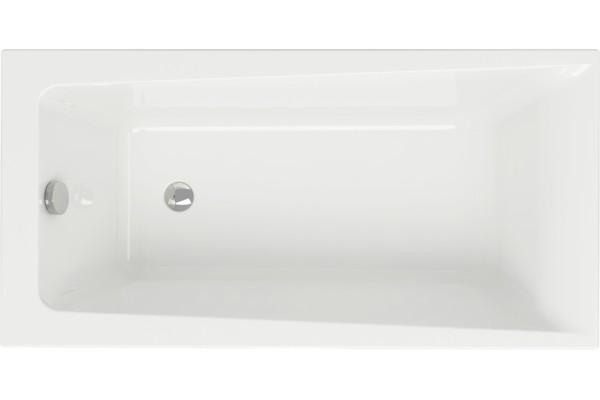 Ванна акриловая Lorena 140*70 (01) ультра белая без ножек