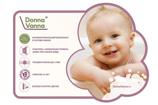 Стальнаяванна ВИЗ Donna Vanna DV-43901, 140х70