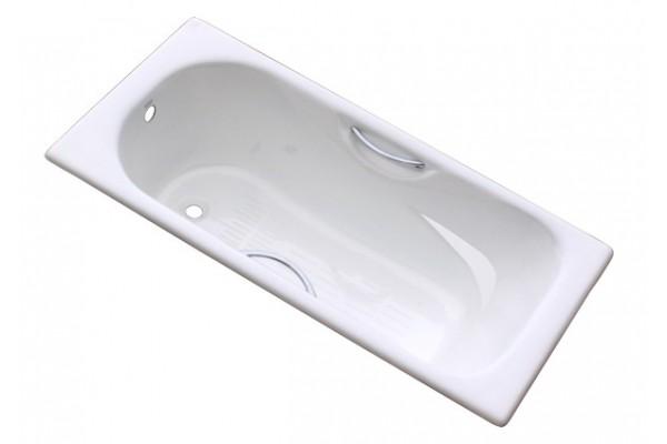 Ванначугунная Goldman,170х75 с отверстиями для рук, без ножек