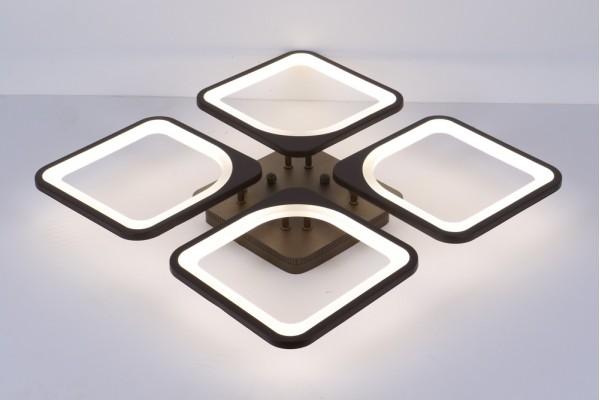 Люстра Escudo 39047-4 Coffee, LED 144W (55*8,5)