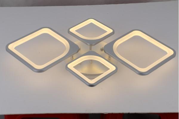 Люстра Escudo 39047-2+2 Silver, LED 120W (50*9)