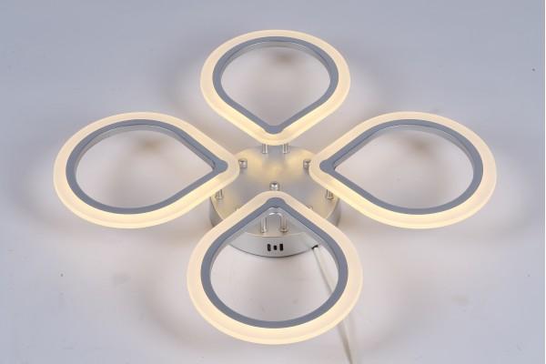 Люстра Lagrima 39226-4 Silver, LED 96W (64*9)