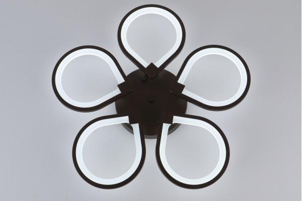 Люстра Omento 39035-5 Coffee, LED 140W (66*9)
