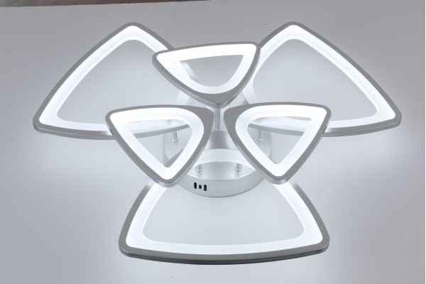 Люстра Peligroso 39083-3+3 Silver, LED 180W (60*13,5)