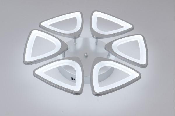 Люстра Peligroso 39040-6 Silver, LED 132W (52*8)