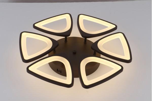 Люстра Peligroso 39040-6 Coffee, LED 132W (52*8)