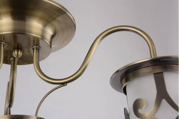 Люстра Lanterna bronze GH35037-3,3xE27/40W(54*54*25)