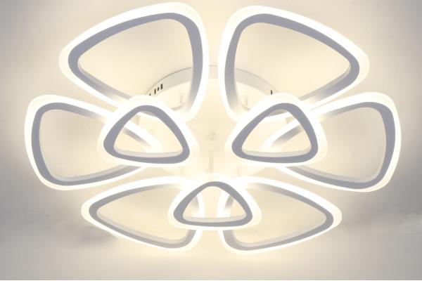 Люстра Schaffner Real 39421-6+3, LED 204W, с пультом